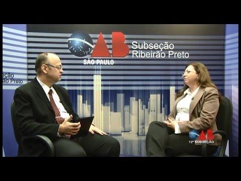 OAB na TV Online: Sandra Escolano, Conselho Municipal Sobre Álcool e Drogas e Afins