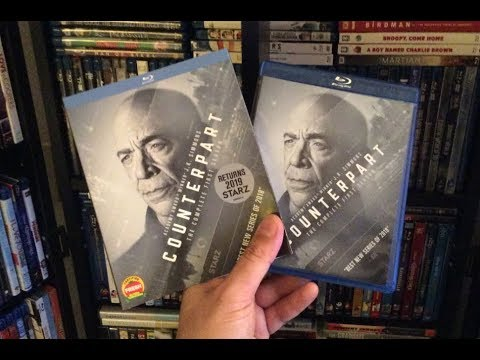 Counterpart: Season One BLU RAY REVIEW + Unboxing - J.K. Simmons