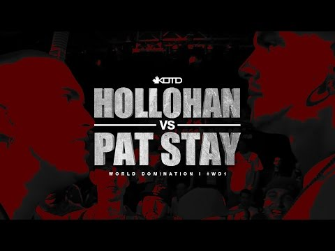KOTD, Rap Battle: Hollohan vs Pat Stay (2010)