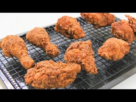SUPER CRUNCHY FRIED CHICKEN – Video Recipe