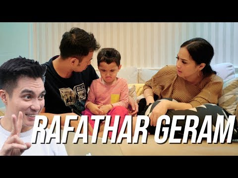REACTION RAFATHAR LIAT VIDEO BAIM TIDURIN RAFATHAR