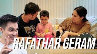 Video REACTION RAFATHAR LIAT VIDEO BAIM TIDURIN RAFATHAR MP3, 3GP, MP4, WEBM, AVI, FLV April 2019
