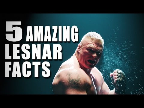 5 things you didn't know about Brock Lesnar - 5 Things