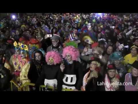 Comienzo del Carnaval de Calle con el pito de caña 2018