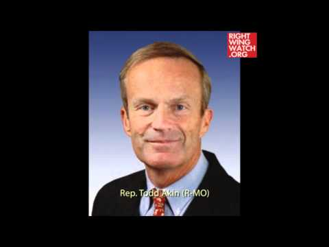 Todd Akin has a history of extreme statements. Watch his five most memorable.