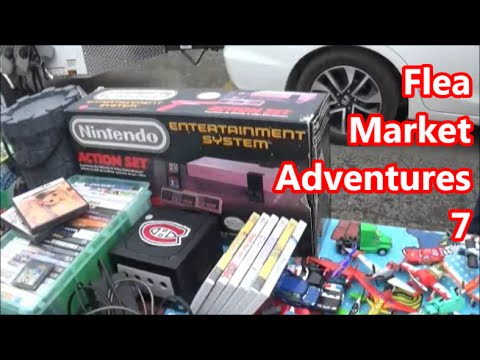 Flea Market Adventures 7 - Boxed NES...es?