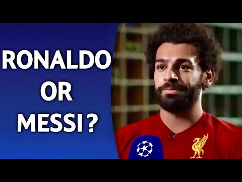 Ronaldo or Messi? | ft. Salah Mbappe Hazard
