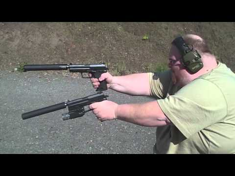 Wielding - While trying to trouble shoot stovepipe and jam issues with the USP 45 Tacticals there was inevitably some goofing around. These suppressors aren't really he...