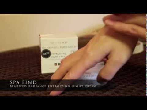 NEW! Spa Find Renewed Radiance Energizing Night Cream