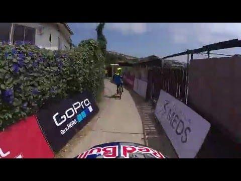 """downhill: """"red bull valparaiso cerro abajo"""" 2015 - filip polc"""