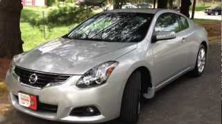 2012 Nissan Altima Coupe V6 Review, Walk Around, Start Up&Rev, Test Drive