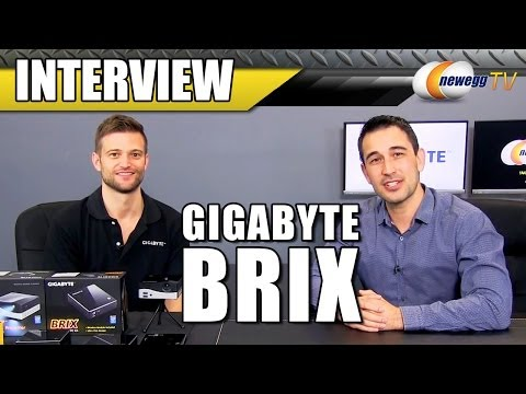 Gigabyte's Brix Interview - Newegg TV
