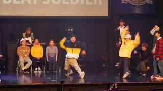 零GDS vs BEAT SOLDIER – DANCE@PIECE 2017 GRAND PRIX FINAL