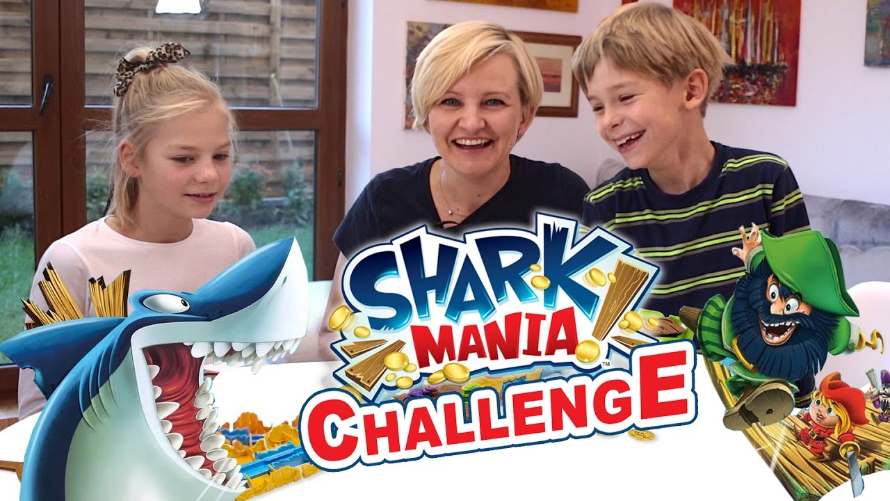 Shark Mania, Spin Master - Challenge