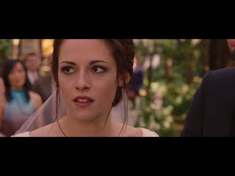 The Twilight Saga Breaking Dawn Part I Wedding Scene