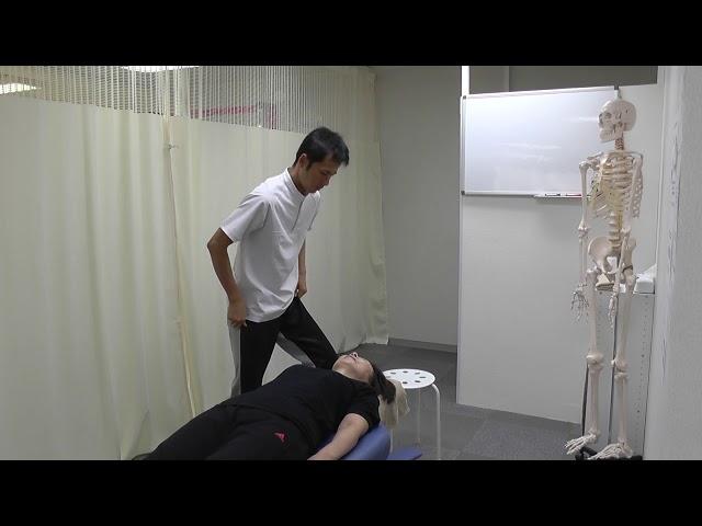 【施術動画】小顔矯正 1 自律神経の乱れには頭蓋骨を調整する