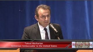Farewell event for the Ambassador Tatoul Markarian