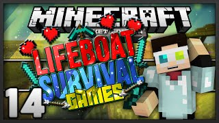 Minecraft POCKET EDITION Hunger Games Ep 14: THE HUNGER CAVE!