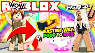 The FASTEST WAY POOR to RICH in Adopt Me! NEW Adopt Me Buying Everything Challenge Update (Roblox)