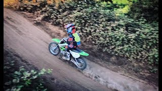 9. First Time Riding the KLX 110 on a Track