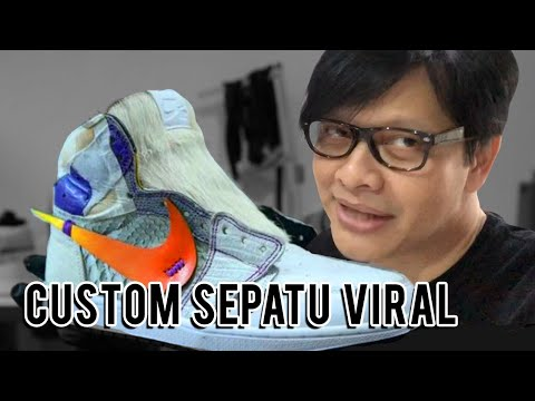 Armand Maulana - Custom Sneakers Viral | Kumaha?! Never Too Lavish