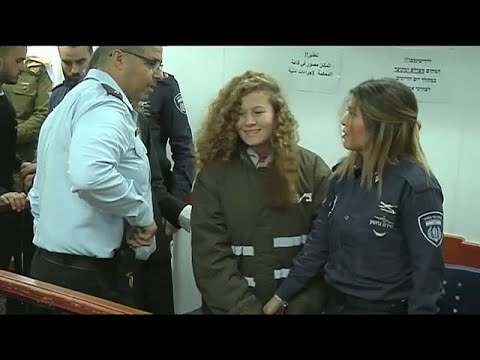 Video 'Filistin'in cesur kızı'nın tutukluluk süresi uzatıldı download in MP3, 3GP, MP4, WEBM, AVI, FLV January 2017