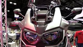 10. 2018 Honda Africa Twin DCT ND Premium Features Edition First Impression Walkaround HD