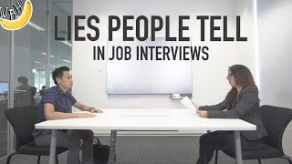 Video Lies People Tell In Job Interviews MP3, 3GP, MP4, WEBM, AVI, FLV April 2019