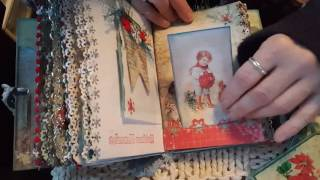 The journal measures 5.5 by 6.5 with a 1.5 inch binding. http://bit.ly/tsunamirose; http://bit.ly/tsunamiroseyoutube