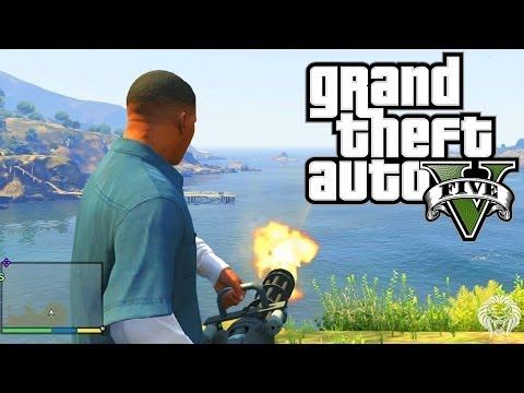 The minigun - GTA 5 Videos Playlist --▻ http://full.sc/1gA1J4D ▻ Follow Me On Twitter! --▻ http://full.sc/16k6rBs This video is a guide to show you the location of the m...