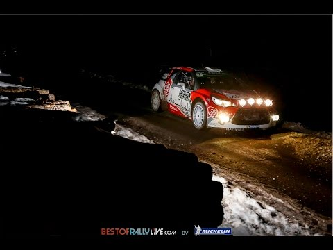 Vídeo mejores imágenes jornada 1 WRC Rallye MonteCarlo 2016