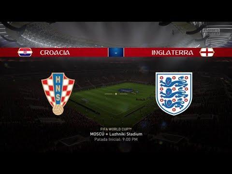 Croacia vs Inglaterra | Mundial Rusia 2018 | Fifa World Cup Russia 2018 | Partido Completo