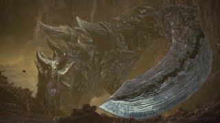 Monster Hunter World: Iceborne - Acidic Glavenus Boss Fight (Solo / Longsword)