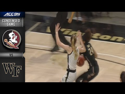Florida State vs. Wake Forest Condensed Game видео