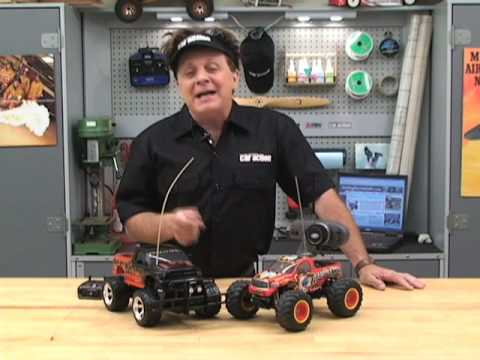 rc cars - Chris Chianelli shows you the ins and outs of RC Cars.
