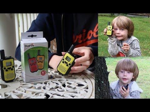 👀 DuaFire Kids WALKIE TALKIES 2 WAY RADIO Product Review 👈