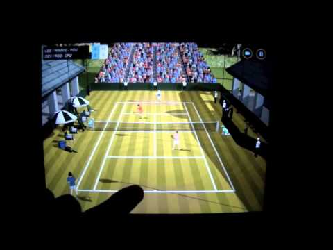 Video of Flick Tennis