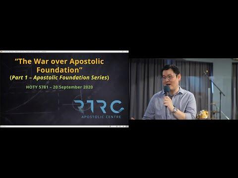 War over Apostolic Foundation - Part 1 of Apostolic Foundation Series  (HOTY 5781 gathering)