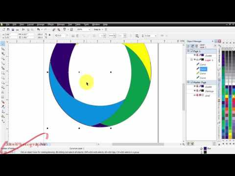 how to create a color with the order in front of - CorelDraw