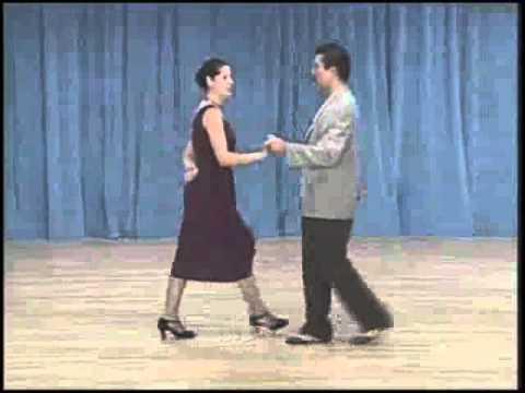 основные фигуры аргентинского танго - 11 Cross system basic(3 часть)