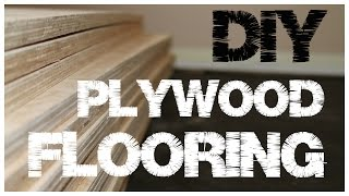 Plywood Flooring – An inexpensive alternative