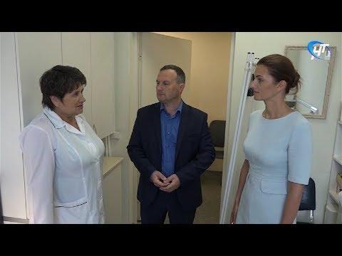 Исполняющая обязанности министра здравоохранения Антонина Саволюк посетила медицинский центр Акрона