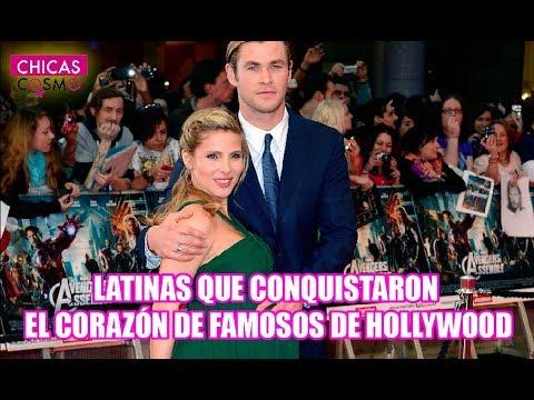 latinas que conquistaron el corazÓn de famosos de hollywood
