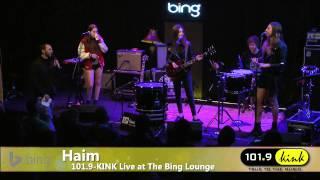 Haim - Interview (Bing Lounge)