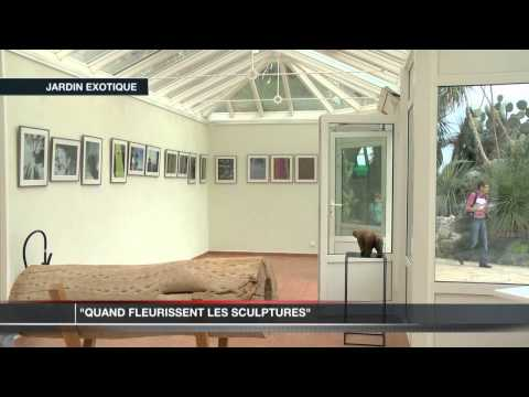 Double exposition pour les 80 ans du Jardin Exotique