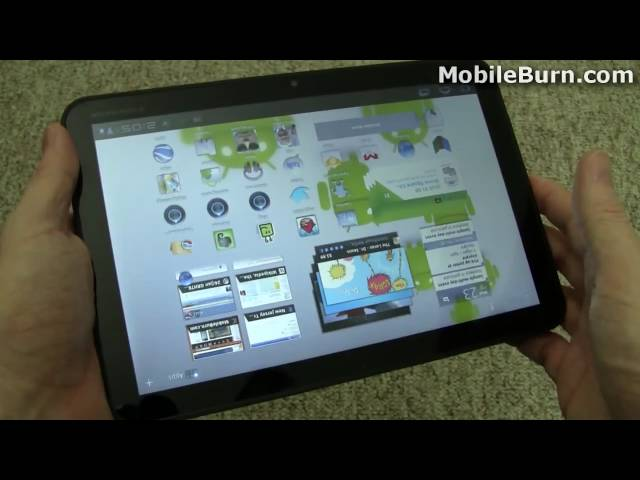 Motorola XOOM hardware and accessory review