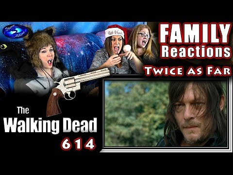The Walking Dead | 614 | Twice As Far | FAMILY Reactions | Fair Use