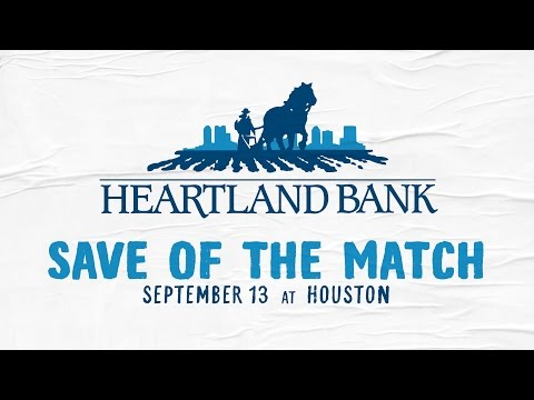 Video: Heartland Bank Save of the Match: Houston