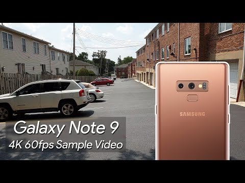 Samsung Galaxy Note 9 4K 60fps Sample Video 1