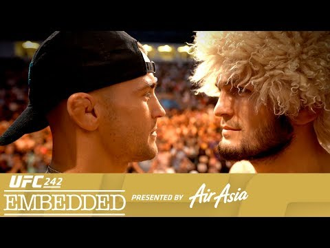 UFC 242 Embedded Vlog Series - Episode 6